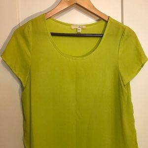 Francesca's, Lush - Lime Green Blouse